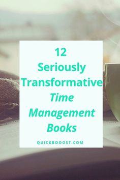 12 Seriously Transformative Time Management Books Harness your time like never before with the help of these transformative time management books! Use this list to find the right time management book for you. Time Management Activities, Time Management Printable, Time Management Quotes, Management Books, Time Management Skills, Personal Development Books, Development Quotes, Self Development, Books For College Students