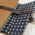 via poppytalk: nico papergood's leather planner
