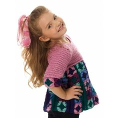 Free Intermediate Child's Tunic Crochet Pattern