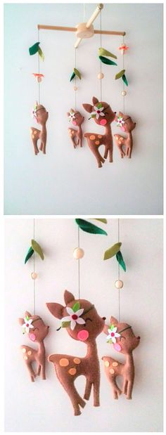 Love this woodland baby crib mobile. Perfect for a baby girl nursery, so precious! Kids Bedroom Decor and Organization Ideas Nursery Themes, Nursery Decor, Bedroom Decor, Bedroom Organization Diy, Organization Ideas, Kids Bedroom Accessories, Sophisticated Nursery, Baby Crib Mobile, Baby Mobiles