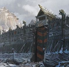 Viking fortifications