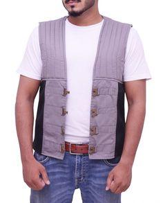 Gunslinger Idris Elba Dark Tower Vest Idris Elba Dark Tower, Roland Deschain, The Dark Tower, Vest, V Neck, Celebrities, Cotton, Jackets, Black