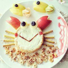 Un Divertido Cangrejo para Desayunar | A Funny Crab for Breakfast #recetascreativas #creativerecipes