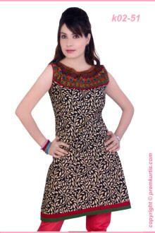 simple design women kurta.