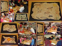 """Smart Art: read """"The Legend of The Indian Paint Brush"""" grocery bag, Native American buffalo hide skin art"""
