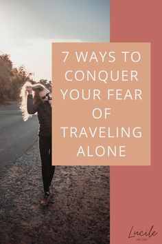 Scared of solo travel? Don't let anxieties and worries stop you, learn how to cope, and overcome your fear of traveling alone for once and all with these useful tips.  #solotravel #travelsolo #digitalnomad #traveler #traveltips