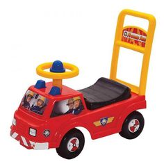 Fireman Sam Red Jupiter Ride On @ Kiddicare.com