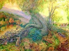 Autumn Serende by Josephine Wall