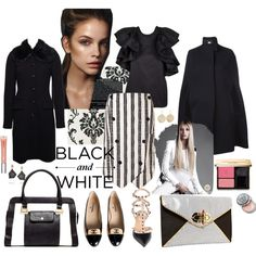 """Black & White - Work Wear 1"" by jyimage on Polyvore"