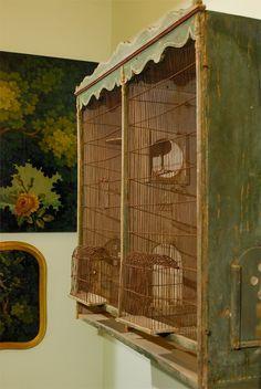 Burlap Luxe: Romantic Aviary Retreats