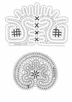 aplicaciones - Pepi Maneva - Веб-альбомы Picasa Lace Patterns, Sewing Patterns, Soutache Pattern, Lace Heart, Sewing Trim, Point Lace, Lace Jewelry, Lace Making, Bobbin Lace