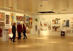 #ENSCHEDE #opening Pop-up #galerie Van Heekplein 3e etage V&D pand! #KunstinTwente #Twente