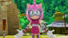 Amy Rose the Hedgehog by TanyaTackett Sonic Boom Amy, Sonic 3, Hedgehog Art, Sonic The Hedgehog, Shadow And Amy, Amy Rose, Lol Dolls, Big Hero 6, Fan Art