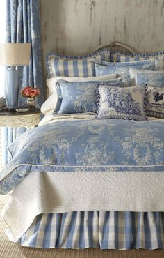 Sherry Kline Home Country Manor Toile Comforter Set