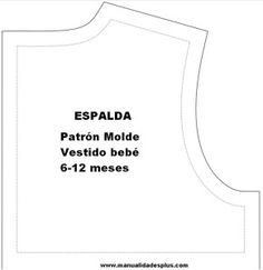 Molds Patterns babies clothes: Dressing Drink