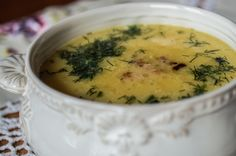 Delicious and perfect soup for a cold autumn days