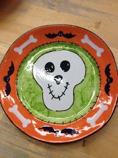 Halloween Handmade Ceramic Bats Pattern Candy Plate Cup Set - DinoDirect.com | Grim Kitchen | Pinterest | Bat pattern Cupping set and Bats & Halloween Handmade Ceramic Bats Pattern Candy Plate Cup Set ...