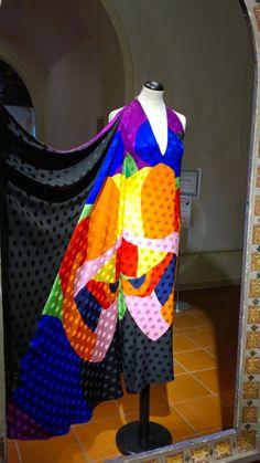 Rainbow Dress - Abito Arcobaleno #fashion #vintage #gianfrancoferre