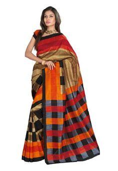 Fabdeal Indian Designer Bhagalpuri Silk Orange Printed Saree Fabdeal,http://www.amazon.com/dp/B00INWIMY8/ref=cm_sw_r_pi_dp_3lcmtb1VJX0R7FRW