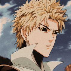 Saitama One Punch Man, One Punch Man Anime, Anime One, Anime Guys, Manga Anime, Genos Wallpaper, Man Wallpaper, Howl's Moving Castle, Man Icon