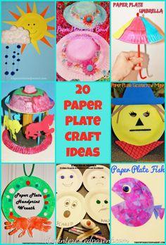 20 Paper Plate Craft Ideas