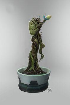 Concept art de Guardianes de la Galaxia