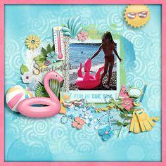 Shadow Box, Digital Scrapbooking, Make It Yourself, Disney Princess, Gallery, Disney Characters, Creative, Sweet, Party