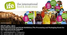 IFE/Pro2Pac 2013 International Food and Drink Exhibition/The Processing and Packaging Event for the Food and Drink Industry 런던 식품/음료/포장 박람회