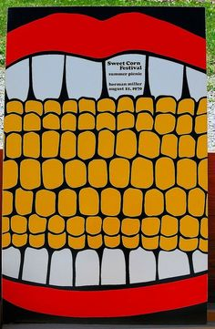 Even Herman Miller's company picnic posters were swoon-worthy. #mcm