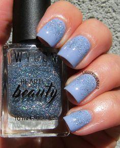 Wycon Serenity Flash and Glitter gradient #wycon #wyconcosmetics #wyconlovesyou…