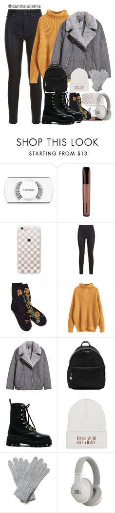 """""""Family Lunch After Christmas🍽🎁🎄"""" by icanthandlethis ❤ liked on Polyvore featuring MAC Cosmetics, Rifle Paper Co, Hudson, H&M, STELLA McCARTNEY, Altuzarra and JBL"""