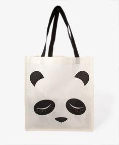 Panda Shopper's Tote | FOREVER21 - 1035547131
