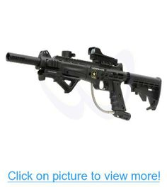 Tippmann US Army Carver One Tactical Paintball Marker Gun MS-ADP