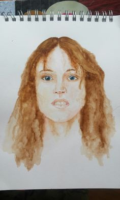 Portrait imaginaire réalisé en 2015 by Lise