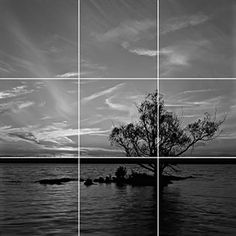 Rule of Thirds: Putting the main object in one of the hot spots and having 2/3 sky or land and the other 1/3 the opposite of the first.