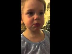 Toddler cries when her dad says she doesn't have a boyfriend - YouTube