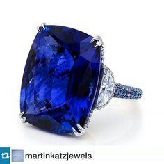 37 carat tanzanite ring.