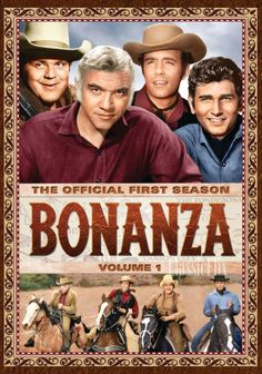 BONANZA. Adam, Hoss and Little Joe. Ben was a rich rancher and had three sons with three different women. I remember the shows that they went back into the past and told of these women,
