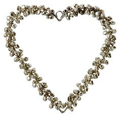 Buy Parlane Large Handmade Hanging Heart Decoration With Pretty Silver Bells from our Ornaments range - Tesco