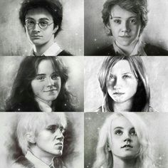 Harry, Ron, Hermione, Ginny, Draco y Luna son fanáticos de - Memes Harry Potter Harry Potter Fan Art, Harry Potter Sketch, Harry Potter Painting, Mundo Harry Potter, Harry Potter Pictures, Harry Potter Drawings, Harry James Potter, Harry Potter Cast, Harry Potter Characters