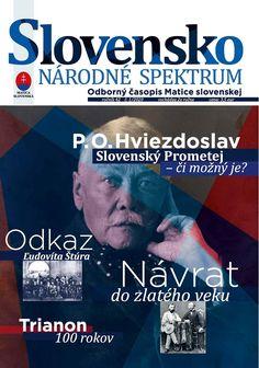 Matica slovenská prichádza na trh s novým odborným časopisom Slovensko – Národné spektrum – Matica slovenská