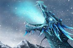 Blue Ice Dragon | Blue Ice Dragon Ice dragon.