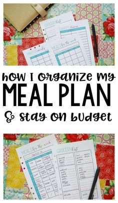 How to Meal Plan - how I plan our meals and grocery trips to stay organized and stick to our budget! I'm sharing my best meal planning hacks!