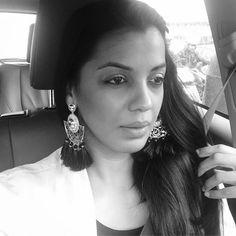 Mugdha Godse Mugdha Godse, Bollywood, Actresses, Indian, Drop Earrings, Celebrities, Beauty, Black, Jewelry