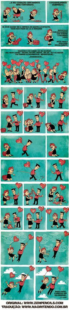 Conselhos do He-Man: Tirinha: Acredite no Amor!