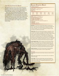Blood-Starved Beast