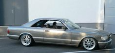 Mercedes Benz 500SEC W126- dont see many of these around.