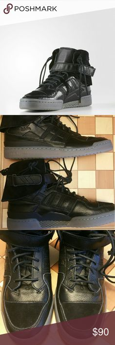 online retailer b3d5d 6fb18 Adidas Forum HI Moc size 11 New Adidas Forum Mid revolutionized basketball  with its innovative design in Today it makes its mark with this  street-ready ...