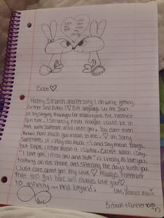 long distance relationship letter to my boyfriend
