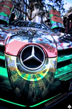 MC LAREN Mercedes-Benz SLR Gumball 3000 @gumball3000 Indianapolis, Indiana